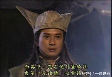 范遥看到小昭为什么吃惊,原来他是暗恋着小昭的母亲金花婆婆