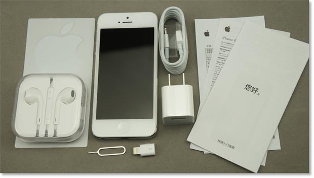 苹果5的充电器是什么样的(图片)