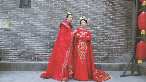 独家花絮:皇上肥肥婚纱照拍摄
