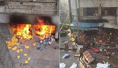 实拍厦门小吃店爆炸现场 已致多人死伤