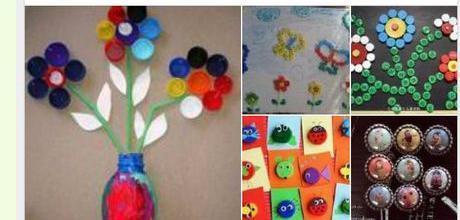 小学生手工制作瓶盖制作方法