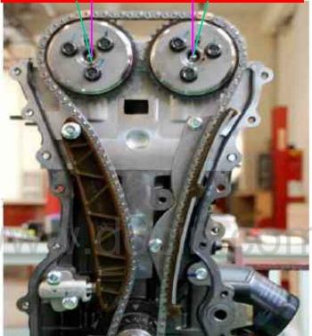 大众b15后链条 五菱b15发动机链条响