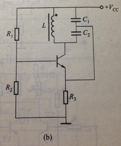 lc西勒振荡器高频等效电路图