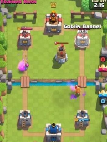 部落冲突皇室战争哥布林飞桶偷塔流怎么玩