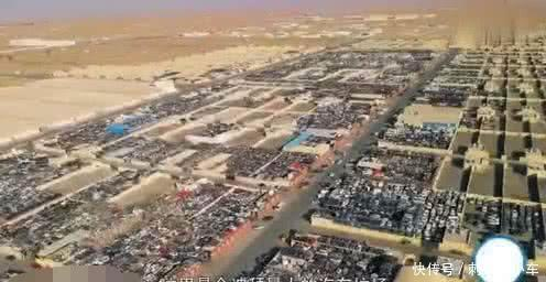 """迪拜豪车""""坟场"""",玛莎拉蒂只要7万,百万豪车当废品叫卖!"""