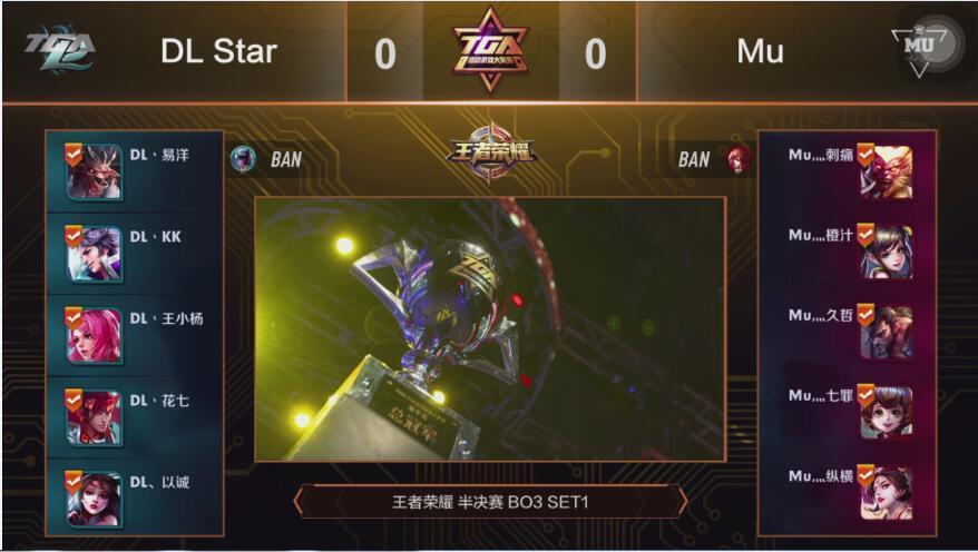 《王者荣耀》DL Star 2:0 Mu进入决赛
