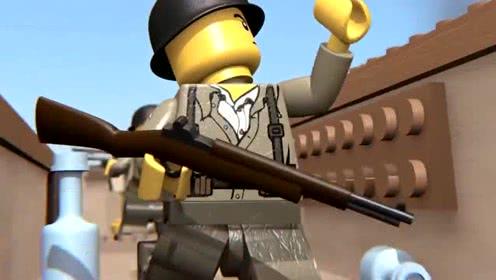 《乐高城市》乐高囚犯的战争,太震撼了!