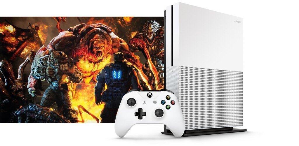 微软新主机Xbox One S