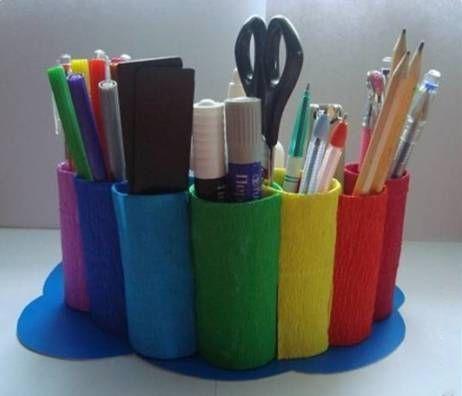 如何画笔筒设计图