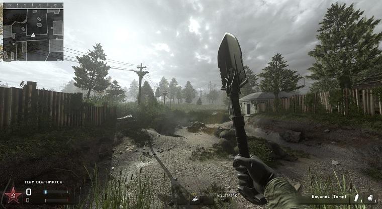 《使命召唤4:现代战争重制版》隐藏武器