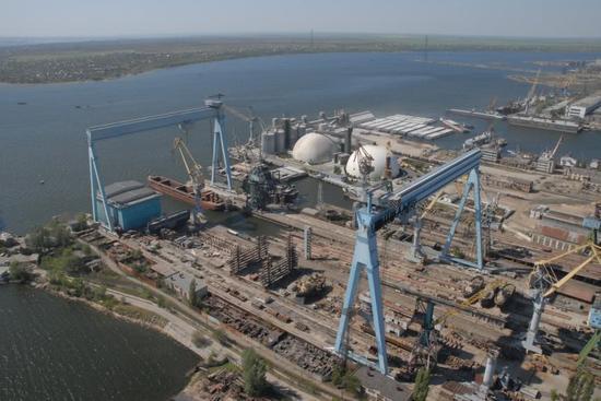 """航母辽宁舰""""出生地""""乌克兰黑海造船厂宣布破产"""