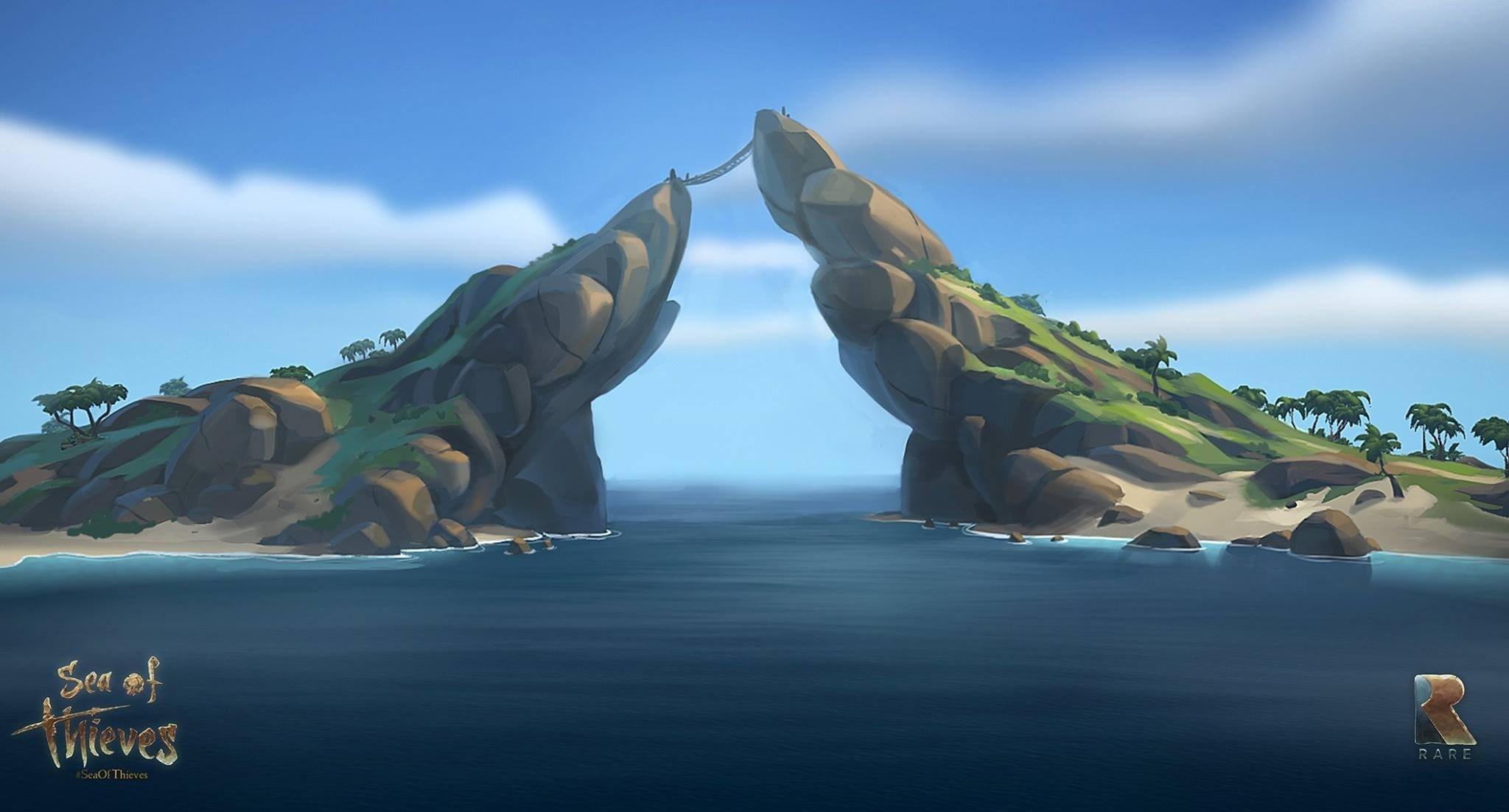 《海贼》新截图曝光神秘小岛