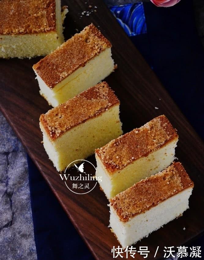 人人喜欢的长崎蛋糕,家里有蛋、糖和油就能做,不用去日本