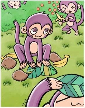 溜溜猴卡片