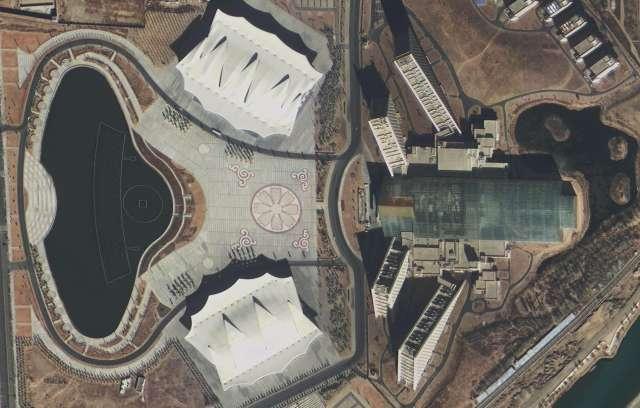 高景一号卫星发首批影像:可分辨车型 - 一统江山 - 一统江山的博客