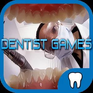 牙医游戏的孩子