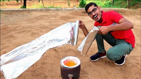 铝箔纸加热之后能提取出多少金属铝?老外亲测,结局出人意料!