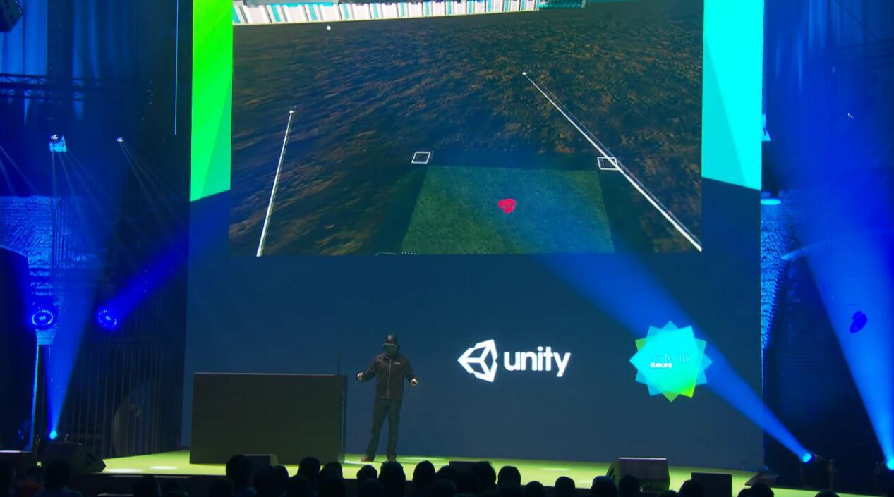 Unity VR编辑器亮相
