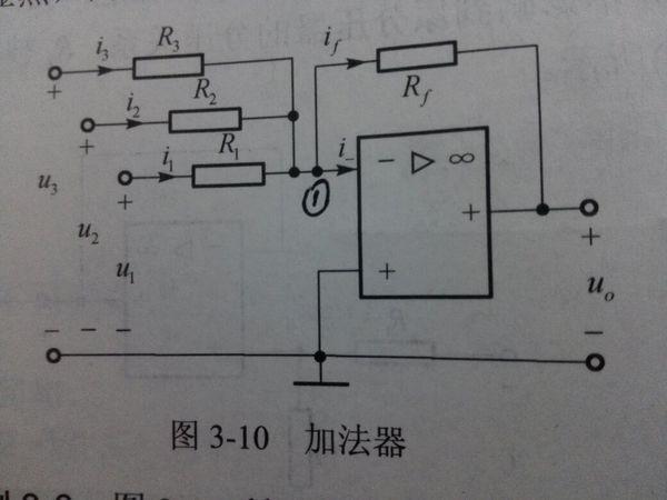 求助电路,这加法器结点电压方程怎么理解?不知道怎么写出!