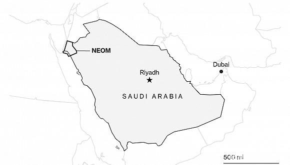 沙特5000亿美元的未来乌托邦:米其林餐厅遍地有,能饮酒可赏人工月