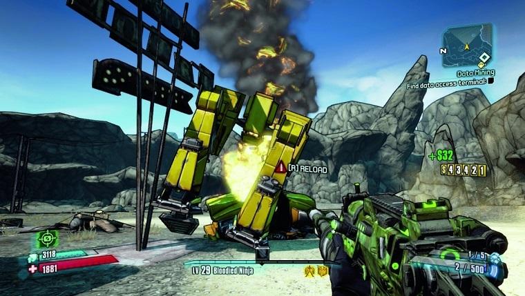 《无主之地2》游戏画面