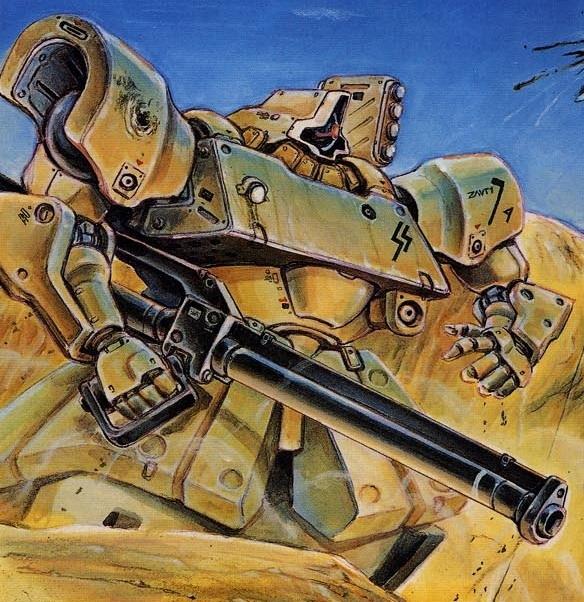 MS-09F沙漠型多瓦兹