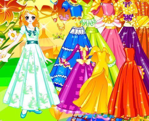 可爱公主新装