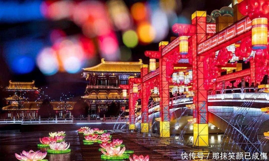 亚洲最炫美的雕塑在西安!夏天纳凉胜地带你穿越大唐盛世!