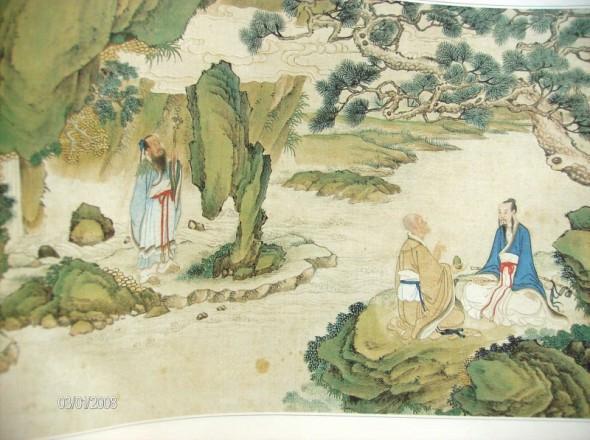 求古风的唯美图片,要和尚和僧人在同一张图的,既唯美有光明那种,