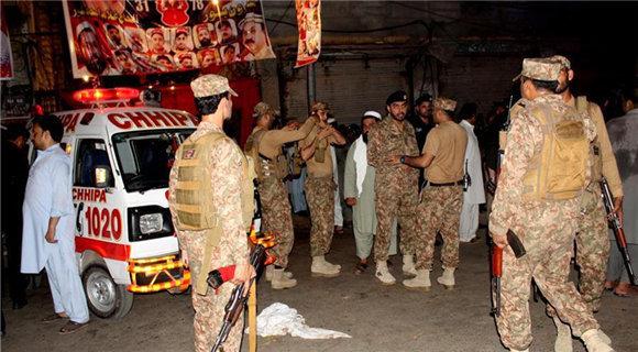 巴基斯坦一政治集会遭自杀式爆炸袭击 13人死亡