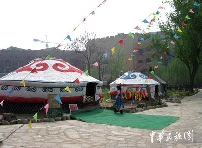 关于蒙古族的民居