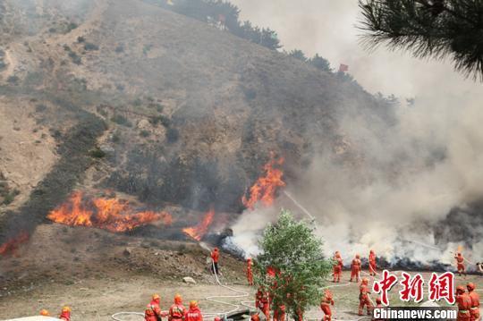 提升森林火灾应急处置能力和森林消防专业队伍建设;坚决落实约谈制度
