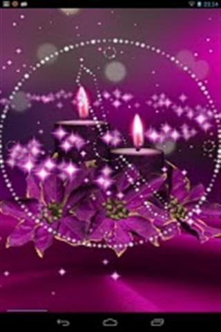 魔术圣诞灯动态壁纸_360手机助手