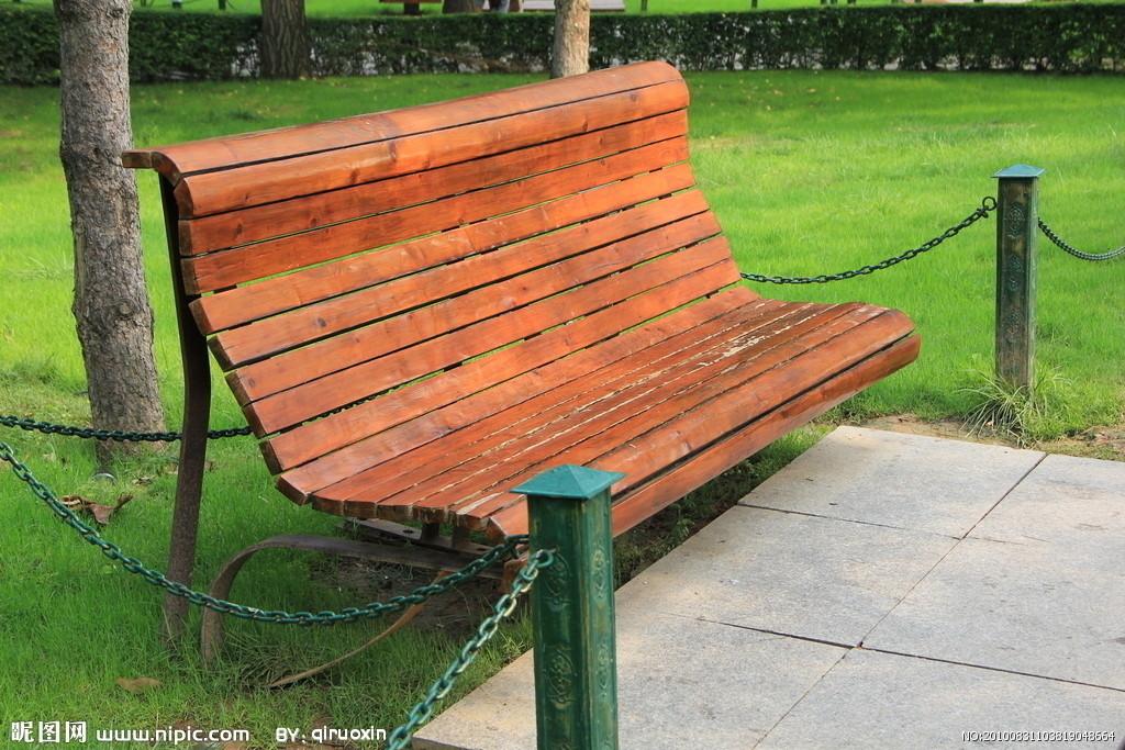 公园长椅子简笔画图片
