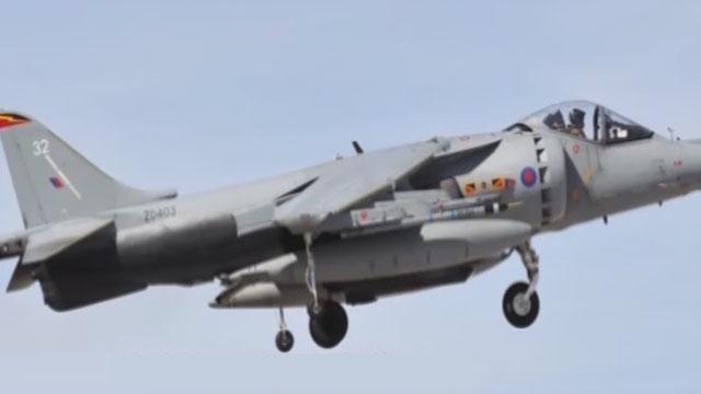 《军情解码》20170422英国鹞式战斗机
