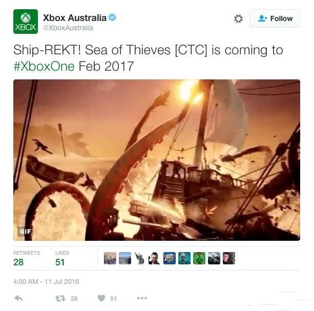 《盗贼之海》发售日疑似泄露