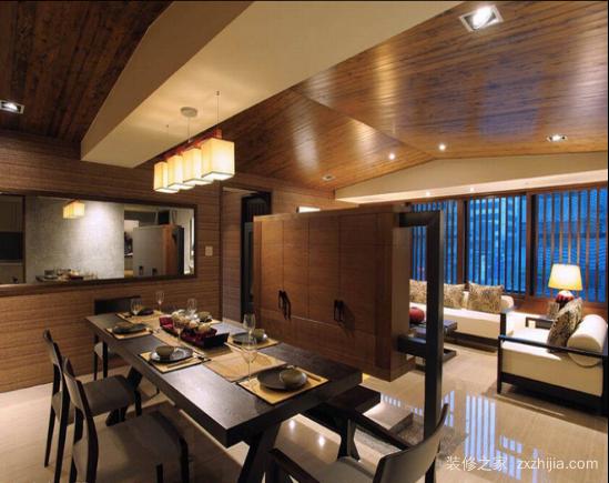 经典日式三居设计 150平日式装修效果图大全