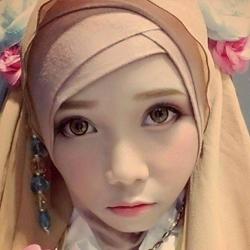 美!穆斯林少女突破头巾限制