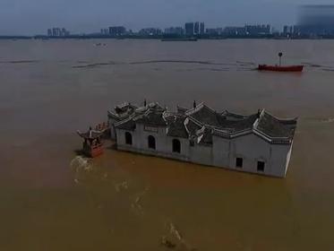 700余年观音阁洪水中安然无恙 古建筑令今人惭愧 - 感恩之心 - 感恩之心
