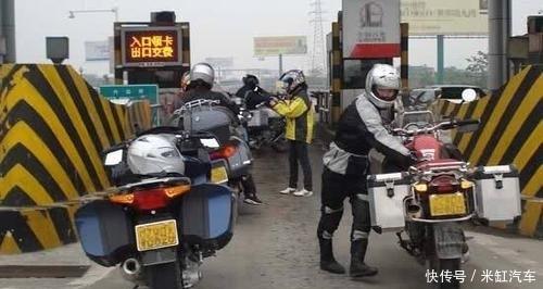 直击交通部新消息,2月后摩托车也能跑高速,看到收费只想哭