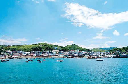 离岛特色奇观 香港的离岛区