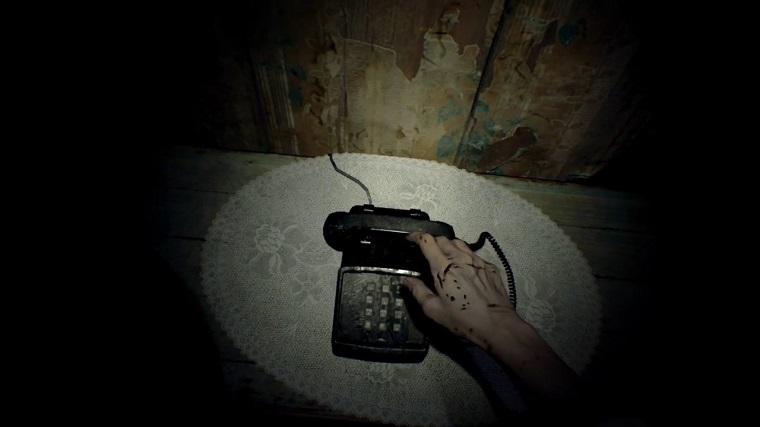 《生化危机7》电话