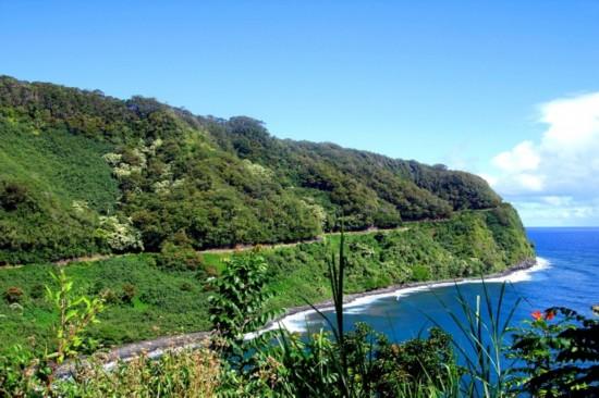 的第二大岛毛伊岛总面积比欧湖岛大,是夏威夷群岛中的第二大岛,在