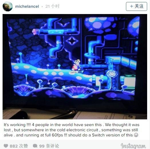 Michel Ancel的Instagram截图