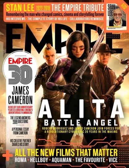《阿丽塔:战斗天使》发布开战版海报 科幻动作视效巨制确定引进中国