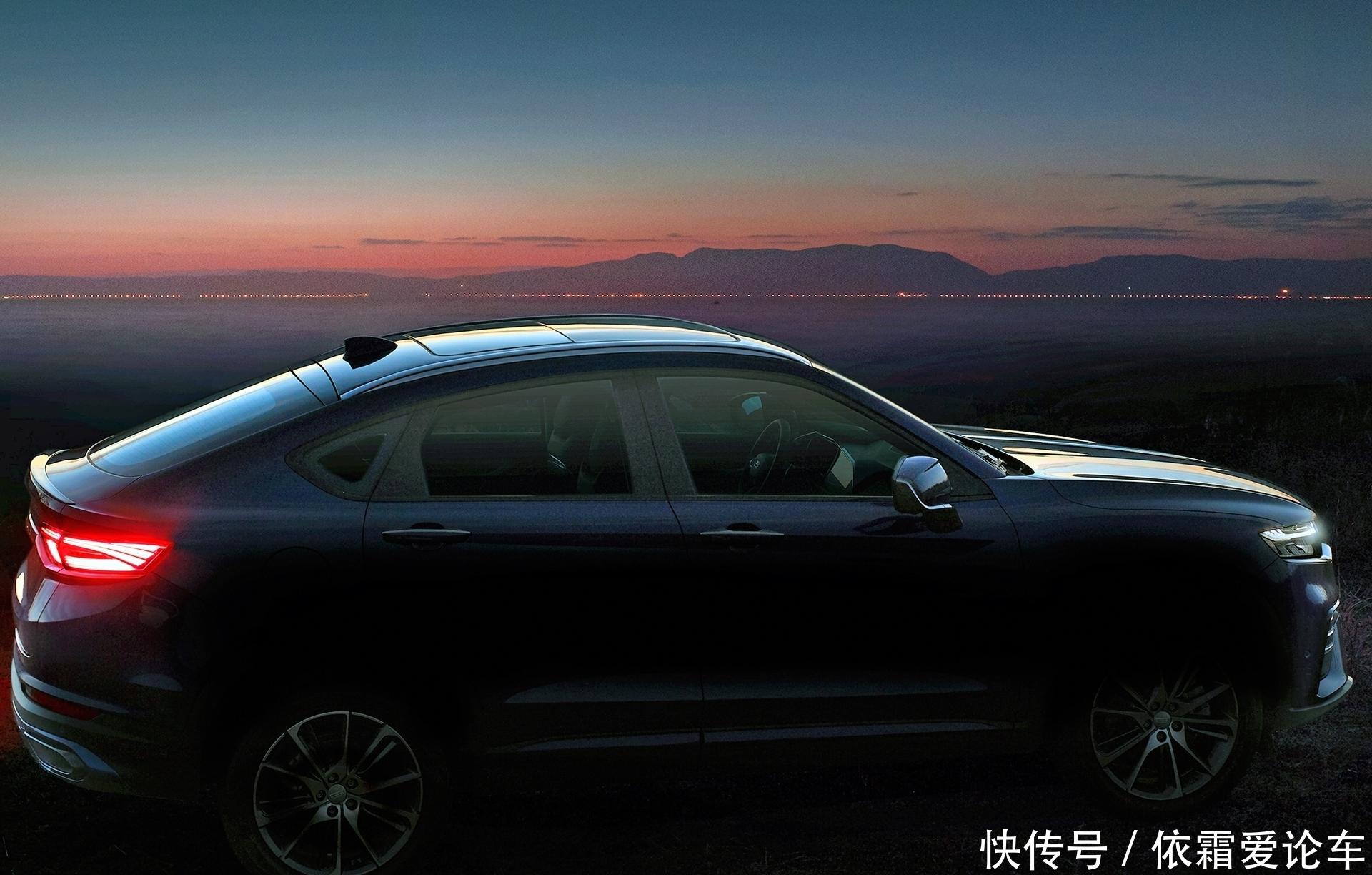 外媒评价,吉利FY11,是穿着轿跑SUV夹克的,沃