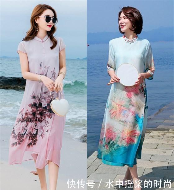 穿旗袍想显优雅大气之感,注意这四个小方法,适合自己的才美