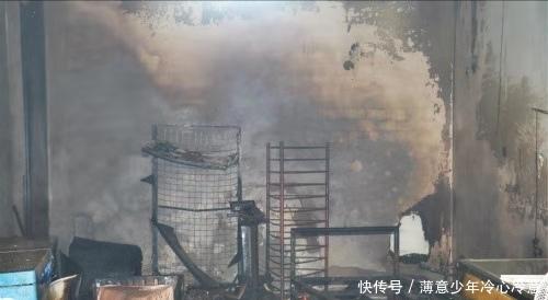 湖北大冶蓝天物流园发生火灾 未造成人员伤亡