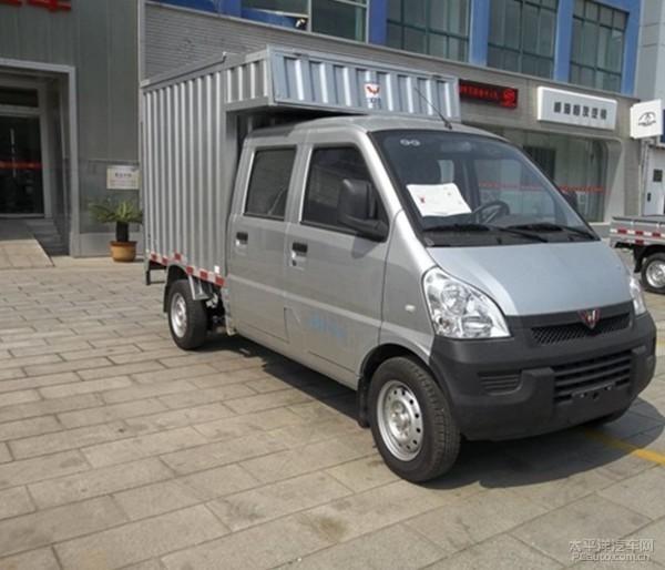五菱双排座厢式小货车改装房车初步设想