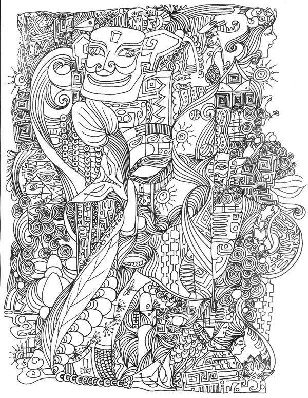 美术学院的线描 图